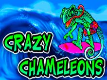 Слот виртуального казино: Сумасшедшие Хамелеоны