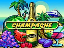 Champagne автомат от Mega-jack для азарта и удачи